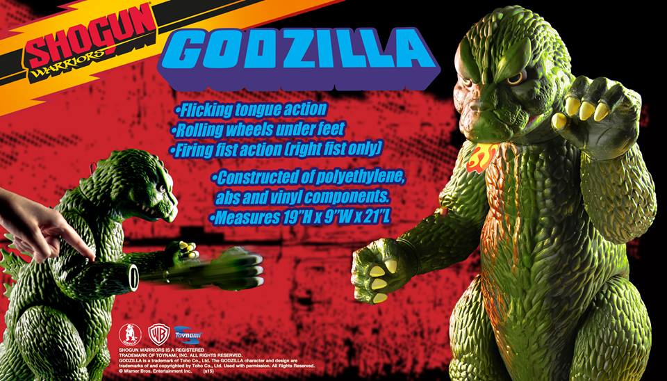 Toynami Shogun Warriors Green Godzilla SDCC Exclusive
