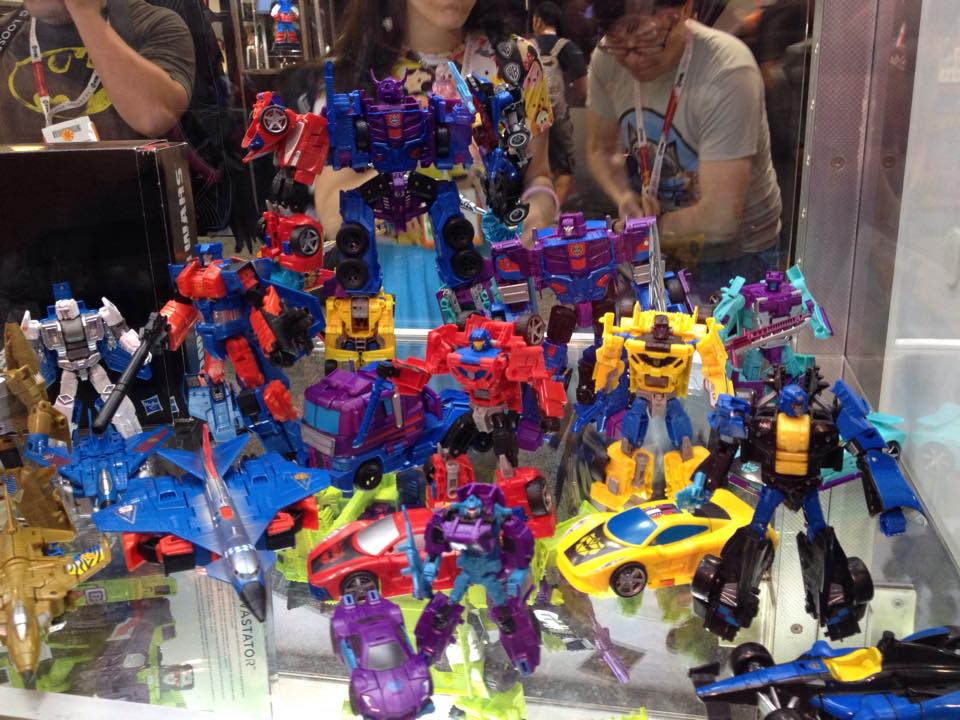 Transformers Gallery SDCC 2014