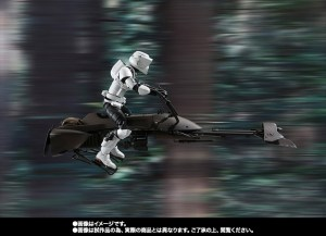 SH Figuarts Scout Trooper with Speeder Bike