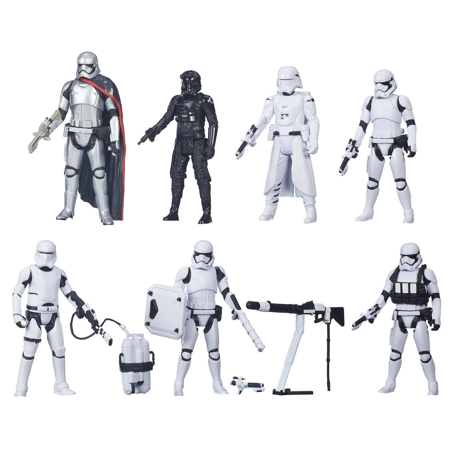 "First Order Snowtrooper • Star Wars Force Awakens • Hasbro 6"" Action Figure Ltd"