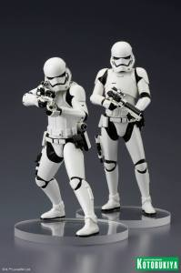 First Order Stormtroopers ARTFX+