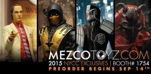 Mezco Announces NYCC Exclusives
