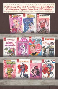 IDW's Valentine's Day Cover