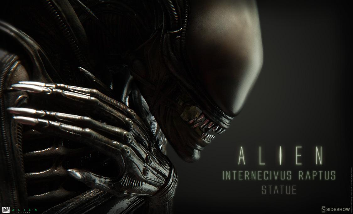 Alien Internecivus Raptus Statue Preview