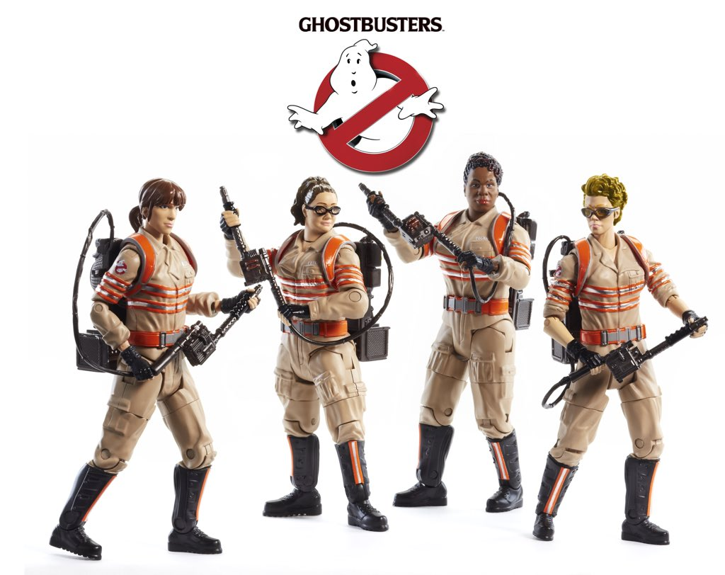 Ghostbusters 2016 Figures Revealed