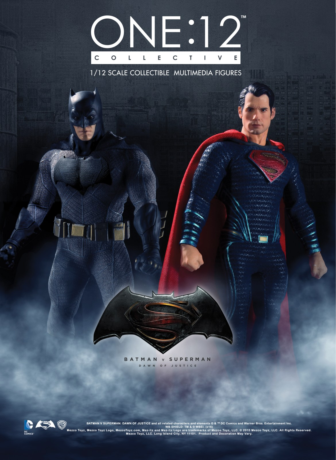 Batman v Superman One 12 Figures Revealed