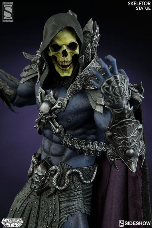 Sideshow presents Skeletor from MOTU