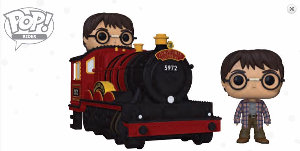 Harry Potter Hogwarts Express Engine Pop Figure