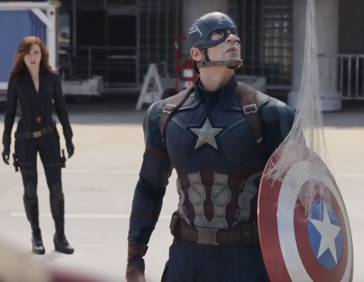 Civil War Trailer Reveals Spider-Man