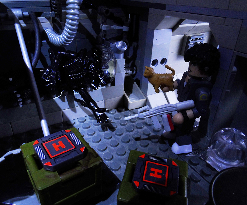 Aliens Minimates Ripley Screaming Xenomorph Review