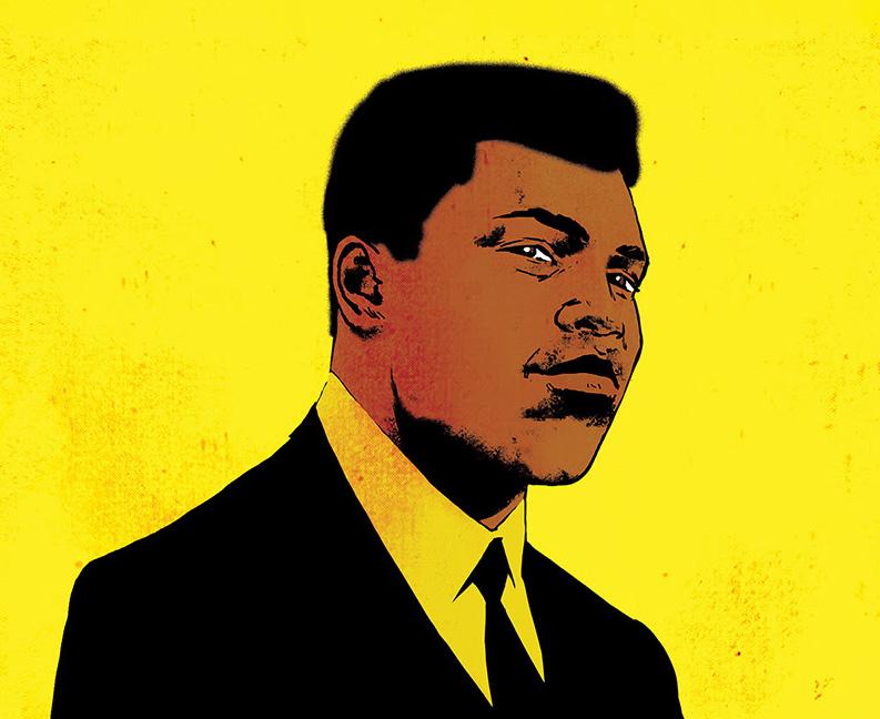 Dark Horse Bringing French Muhammad Ali Graphic Novel To US