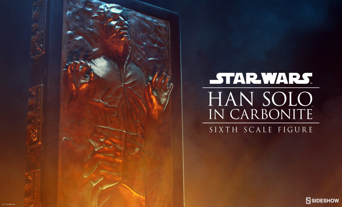 Han Solo in Carbonite Preview