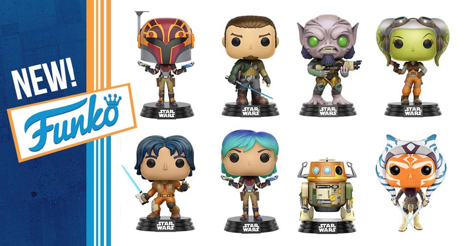Star Wars Rebels POPS Coming Soon