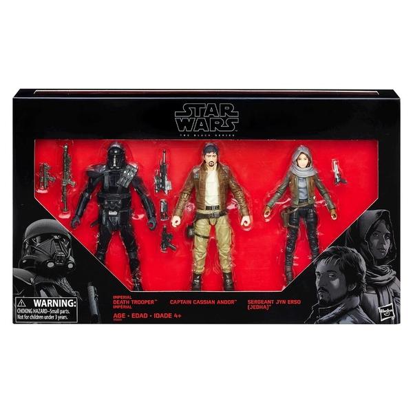 Target Exclusive Star Wars Black 6 Inch 3 Pack