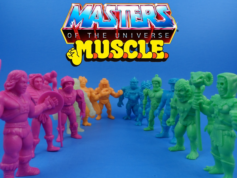 MOTU MUSCLE Trash Can – Random Toys