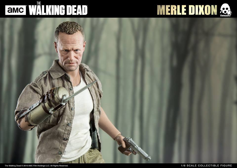 Merle Dixon One Sixth Scale Figure