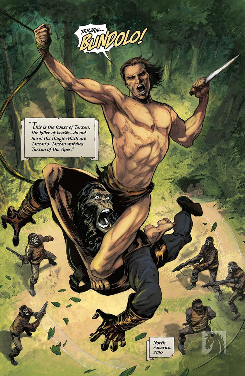 Tarzan on the Planet of the Apes #1 – Review
