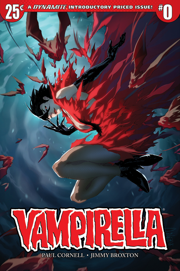 The New Vampirella #1 Will Only Cost You A Quarter
