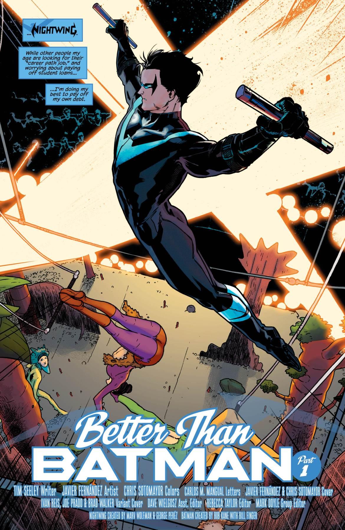 Nightwing Vol. 1: Better Than Batman – Review