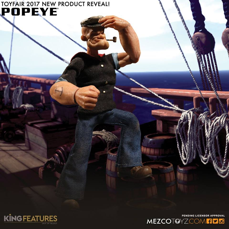 Mezco Official Press Images- Pre Toy Fair 2017