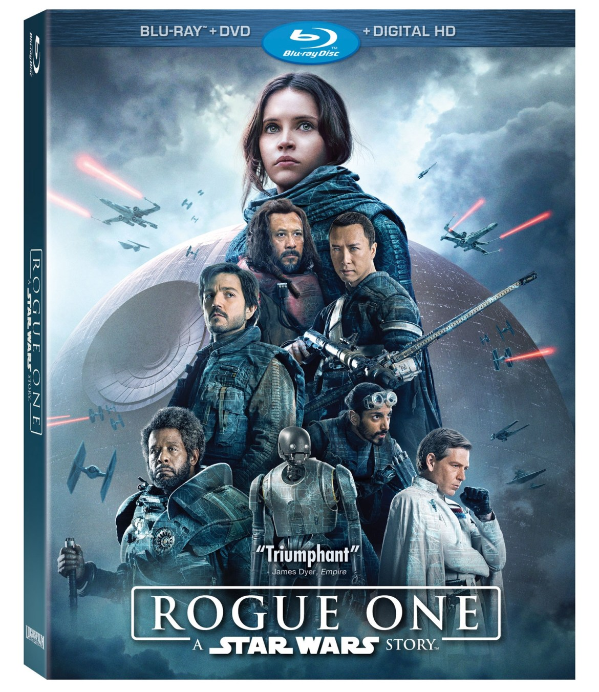 Star Wars Rogue One Blu-Ray Release Date Announced