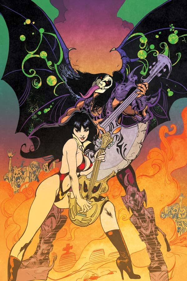 Kiss/Vampirella Press Release Is Entertaining On It's Own