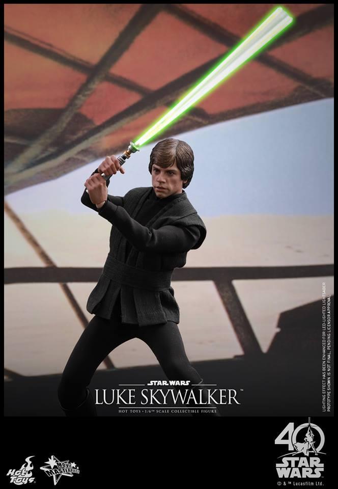 Star Wars: ROTJ – 1/6th Luke Skywalker Collectible Figure