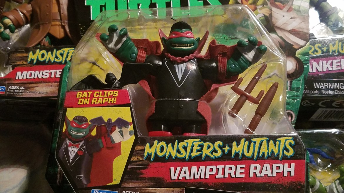 Playmates TMNT Monsters + Mutants Reviews Coming in October