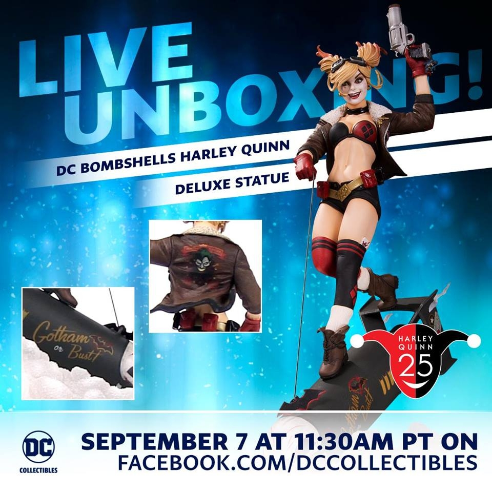 DC Collectibles Celebrates 25th Anniversaries of Harley Quinn and Batman