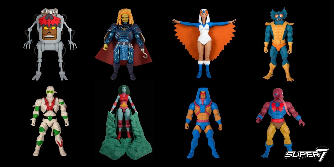 Super7 Announce the next wave of the Masters of the Universe Classics and Club Grayskull figures