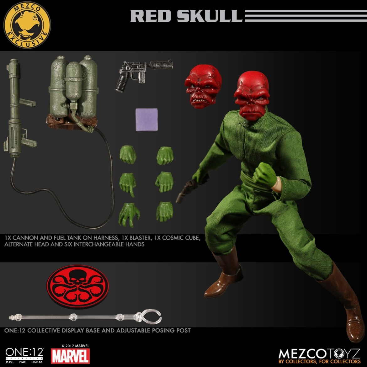 The One:12 Collective Red Skull Fall Exclusive