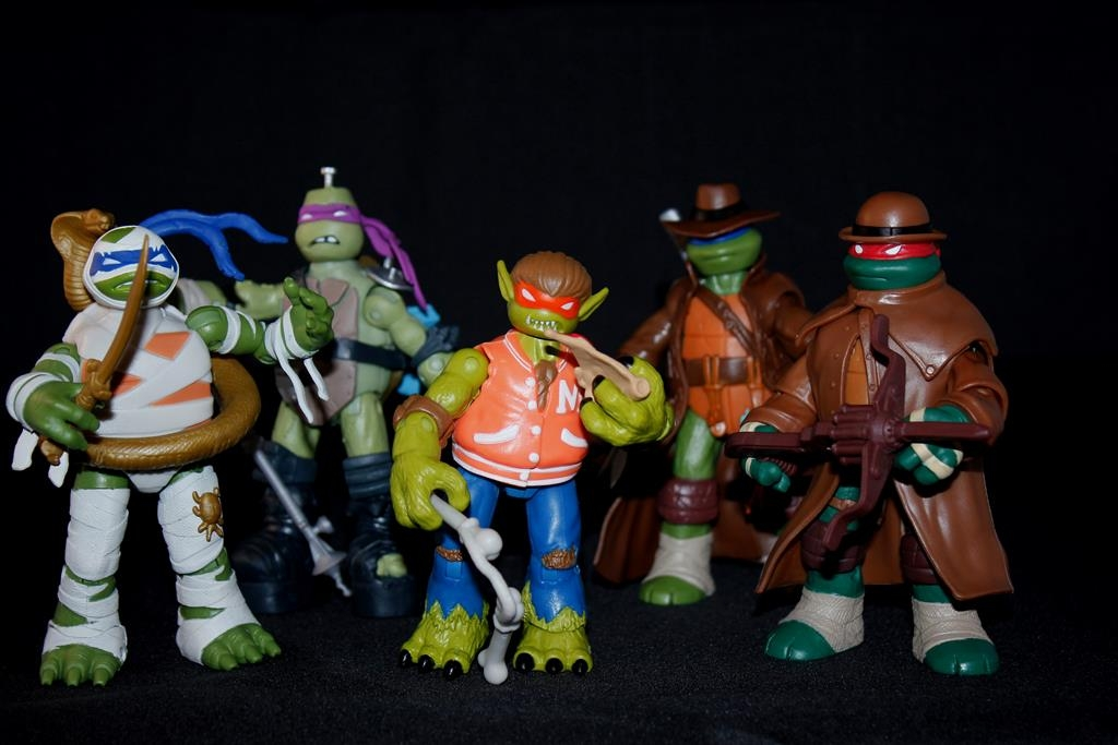 Playmates TMNT Monsters + Mutants Full Reviews! Its Monster Madness!!