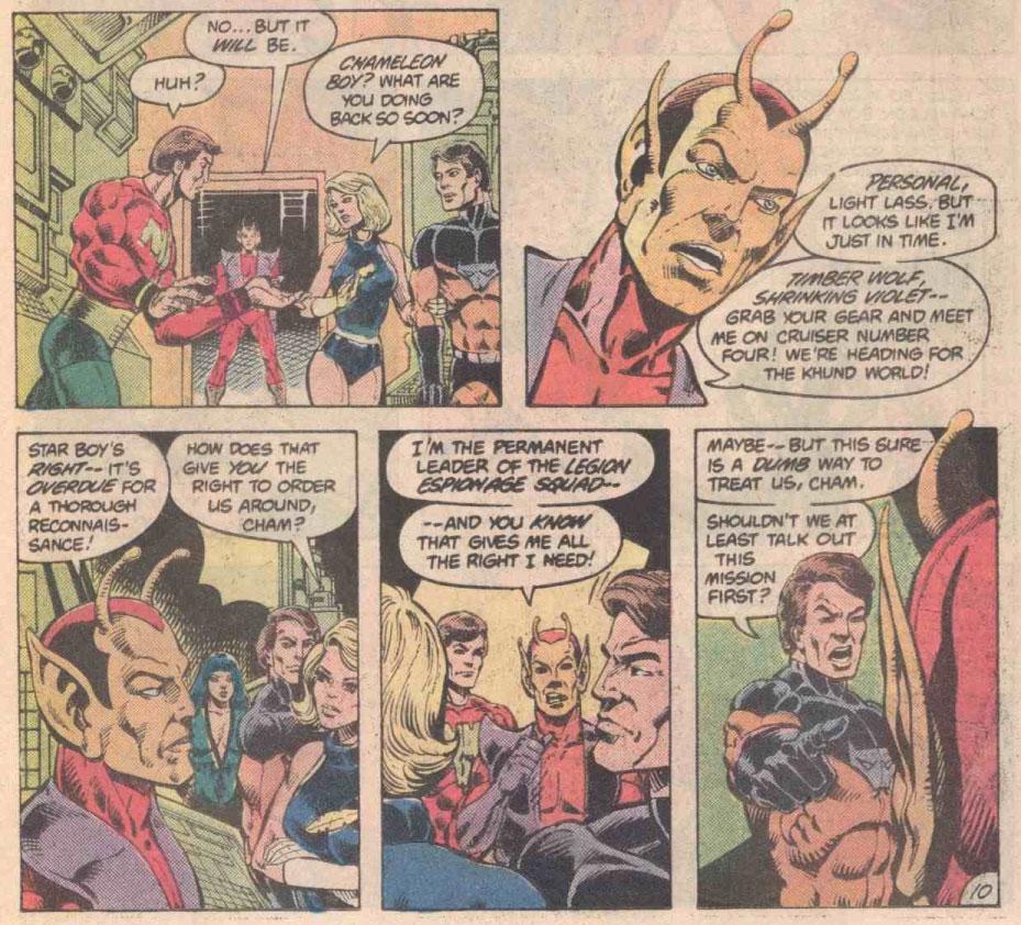 Legion of Super-Heroes #286 – Reviews Of Old Comics