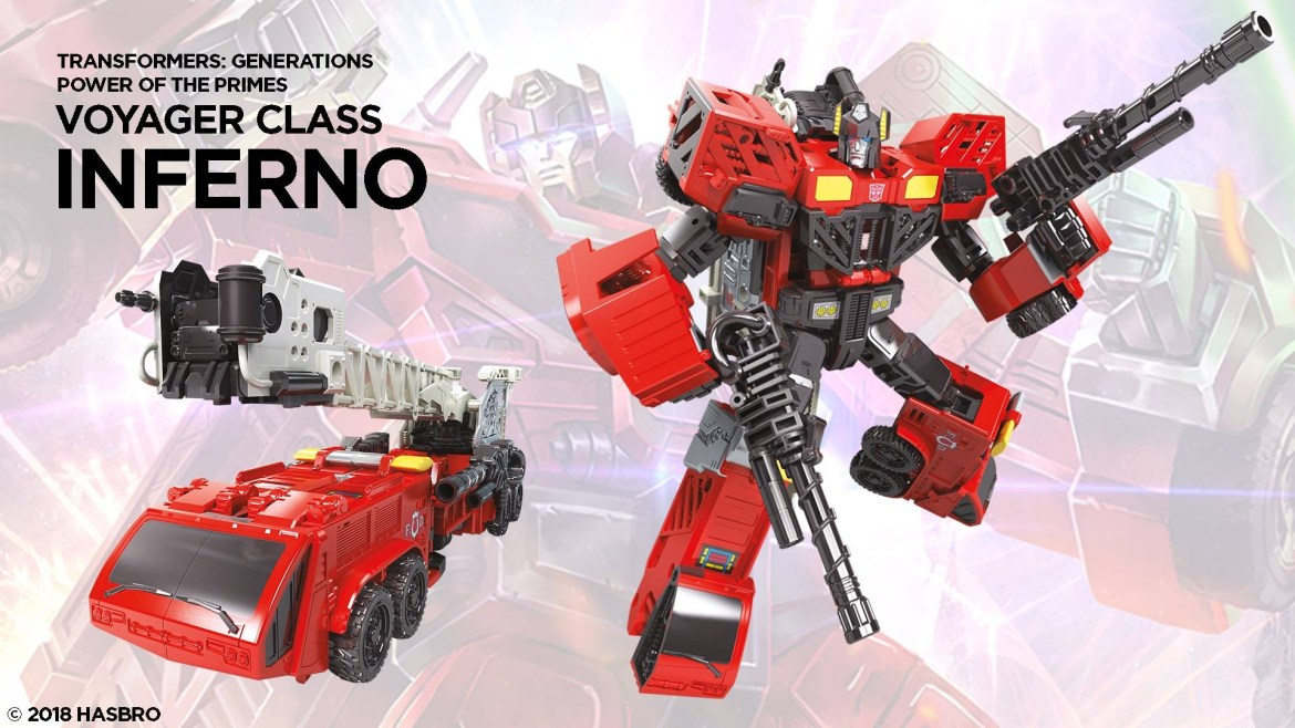 Inferno Coming to the Power of the Primes Collection