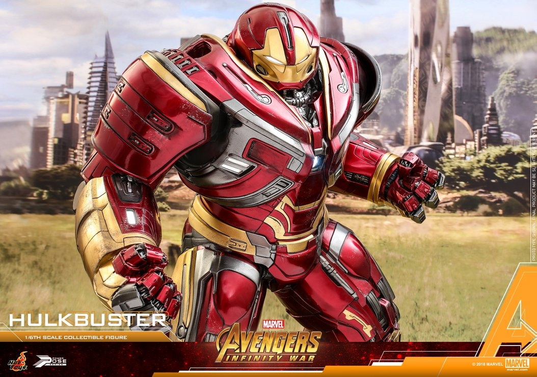 Hulkbuster 1/6th scale Power Pose collectible figure