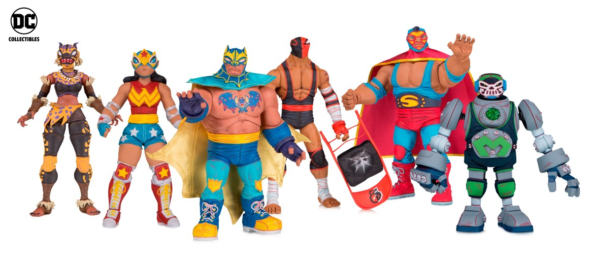 DC Collectibles Reveals DC ¡LUCHA EXPLOSIVA! and DC PRIME