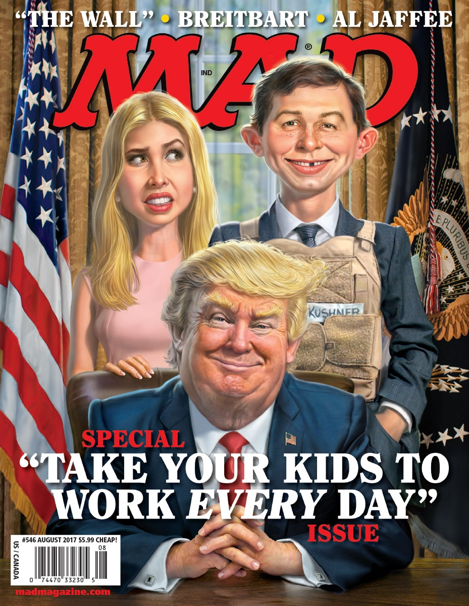 What DC Lowering The Axe On Mad Magazine Means