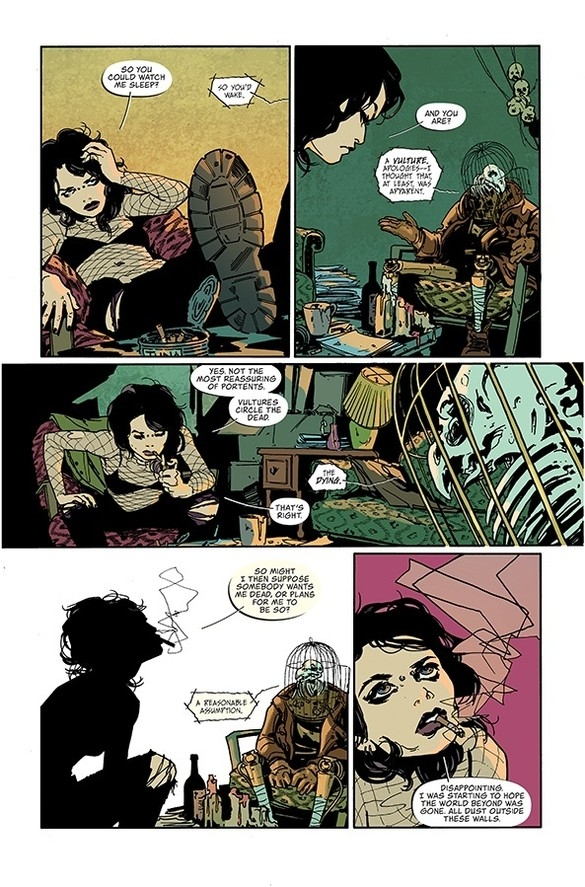 This Coffin Bound #1 Preview Is NICE