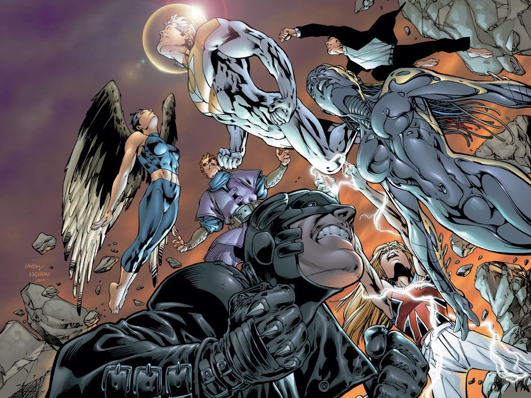 The Importance Of Bryan Hitch and The Authority