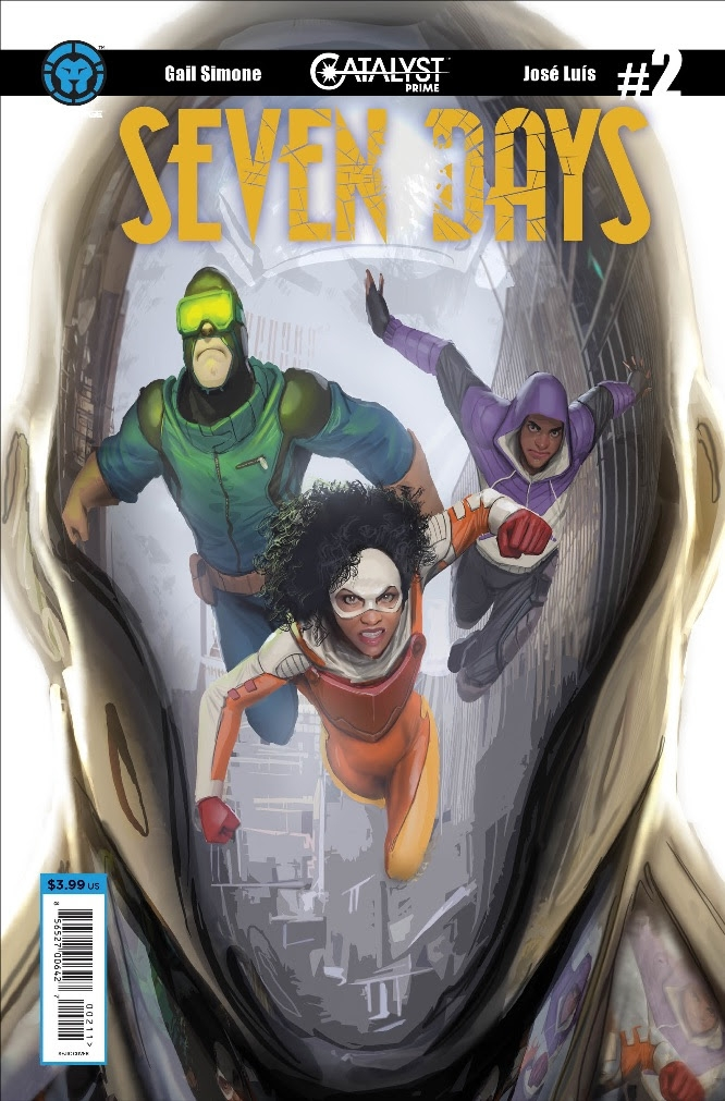 Catalyst Prime: Seven Days #2 – Review