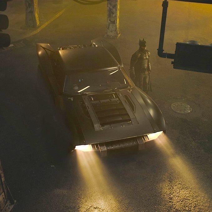 2021 Batman Movie Batmobile Images Released