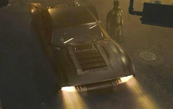 Front View of Batmobile
