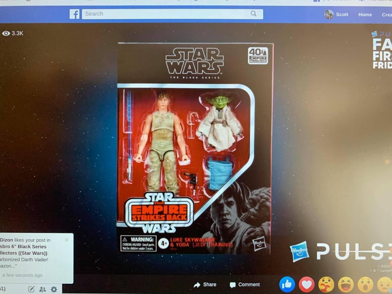 Fan Chanel exclusive Luke and Yoda 2pak Revealed