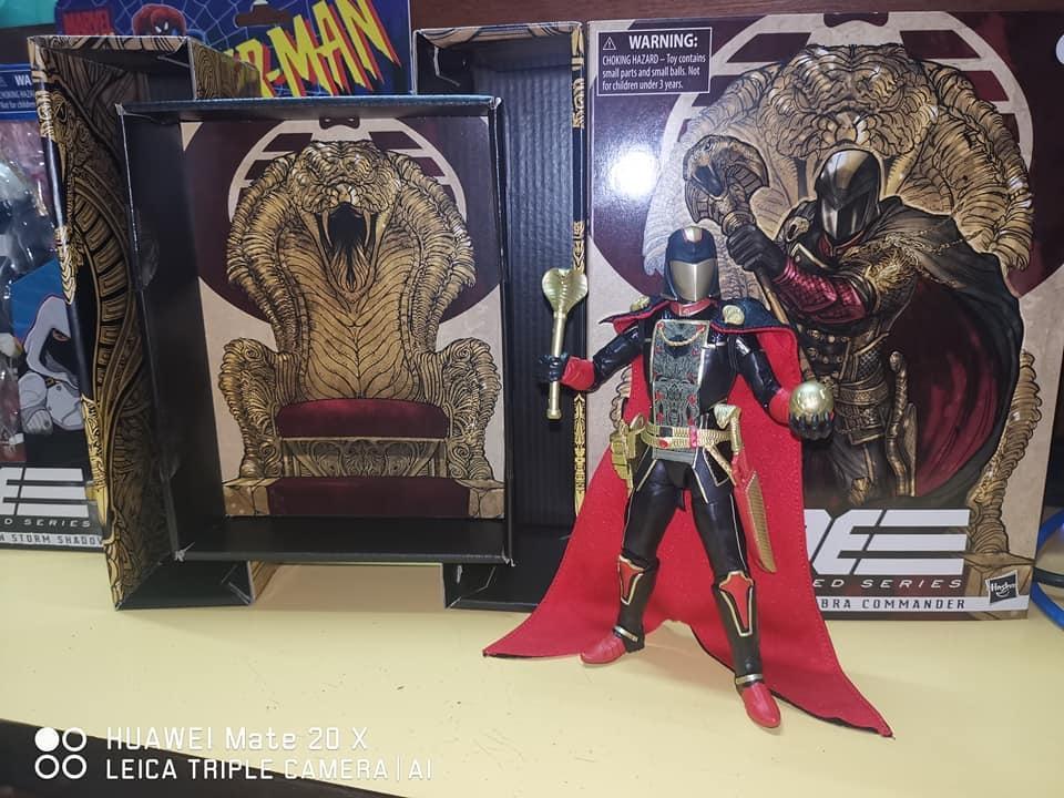 GI Joe Classified Snake Supreme Cobra Commander Unboxing