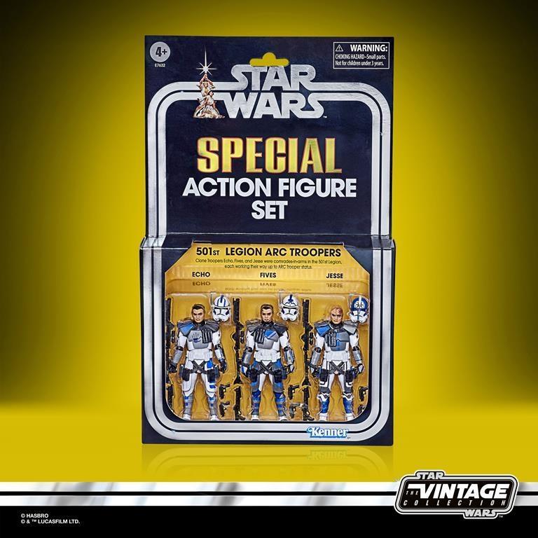 STAR WARS 501ST LEGION ARC TROOPERS Figure 3-Pack