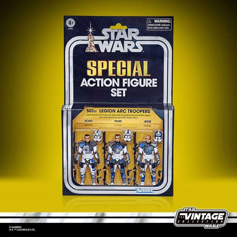 STAR WARS 501ST LEGION ARC TROOPERS Figure 3-Pack