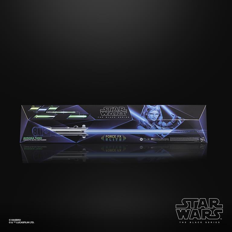 Star Wars Black Ahsoka Tano FX Elite Lightsaber Revealed