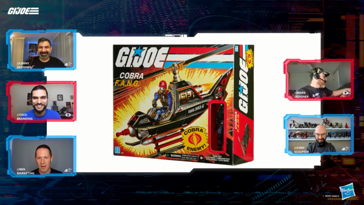 Hasbro Pulse Con GI Joe Retro Panel