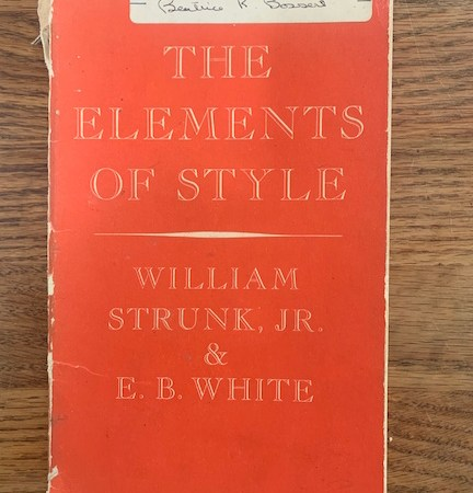 The Elements of Style - Orange Copy