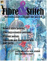 Cover of issue 4, Fibre&Stitch zine